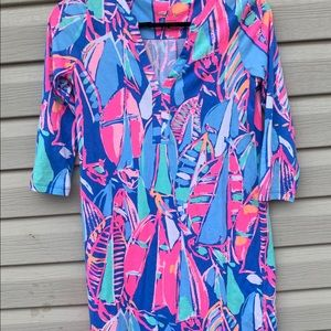 Lilly Pulitzer Women's Size XXS Tunic Dress Bright